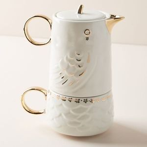Anthropologie Kitchen - Anthropologie Lovebirds Jerri Tea for One